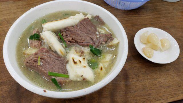 羊のスープの画像