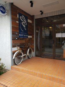 東京のゲストハウスの外観